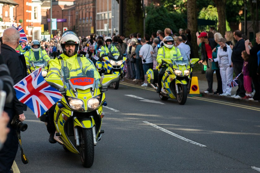 Derby Photographer Photo of Police Cavalcade