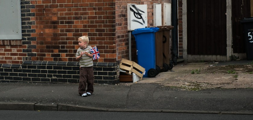 Candid Portrait of Child in Derby