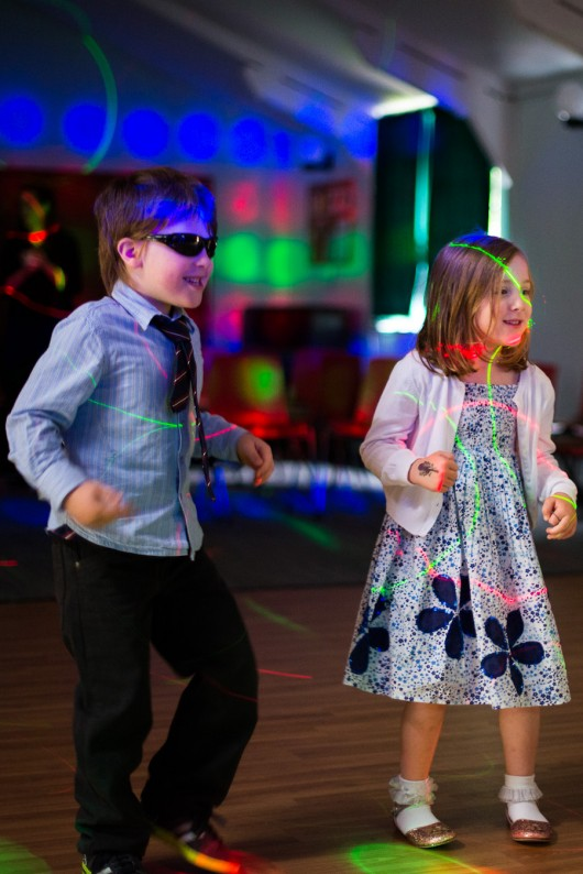 Childrens Disco Portrait Photographs