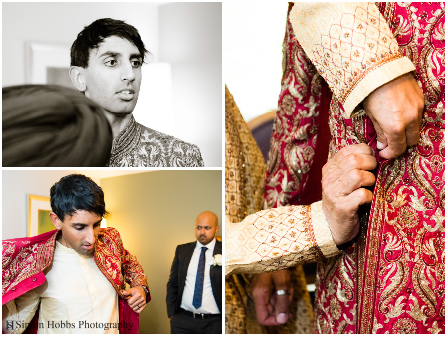 02-Hindu-Wedding-Groom-Preparing-Nottingham