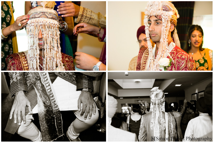 07-Hindu-Groom-Eastwood-Hall-Nottingham-Wedding