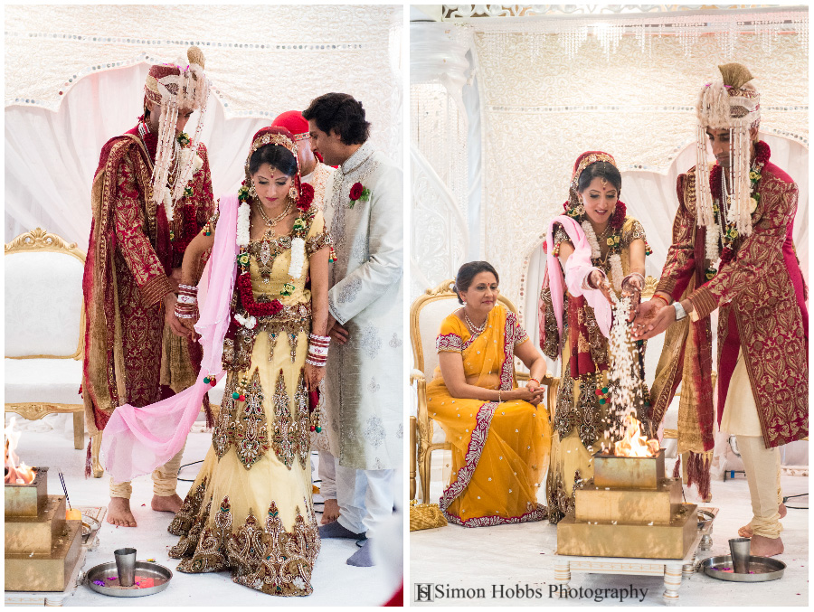 14-Adding-Rice-To-Fire-Nottingham-Hindu-Wedding