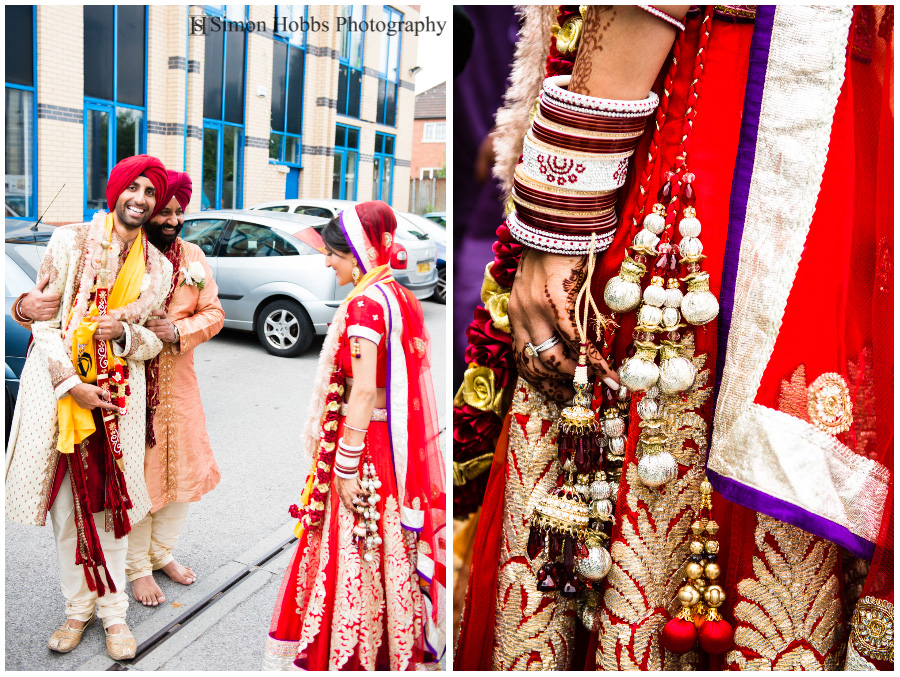 16-Sikh-Bride-and-Groom-Derby-Wedding