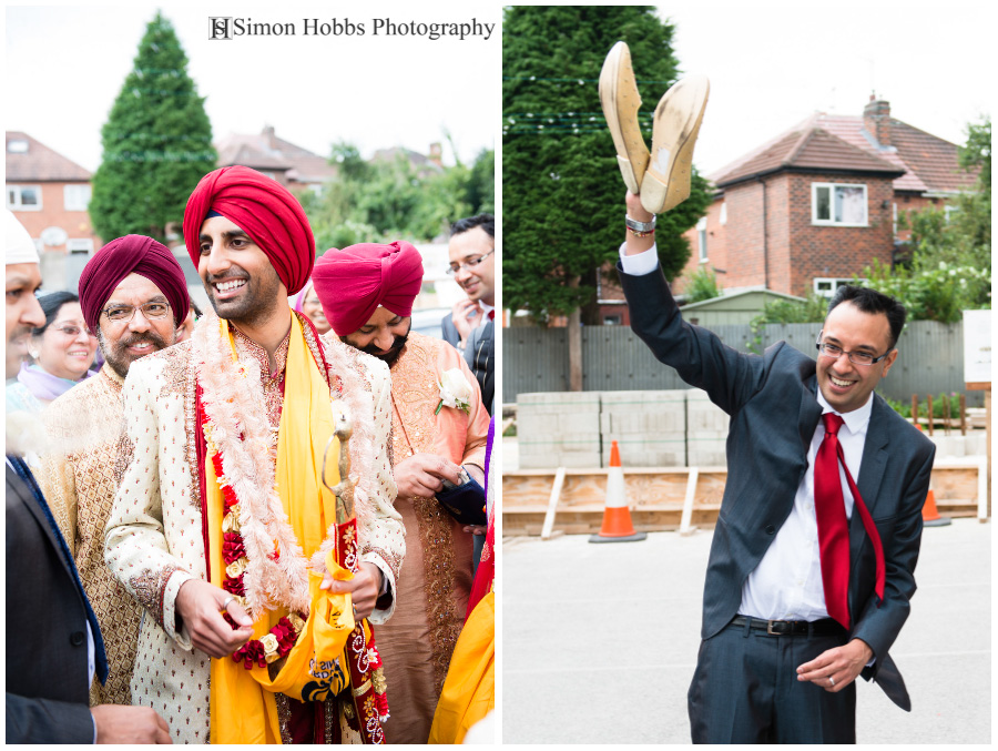 18-Derby Sikh-Wedding-Finding-Shoes