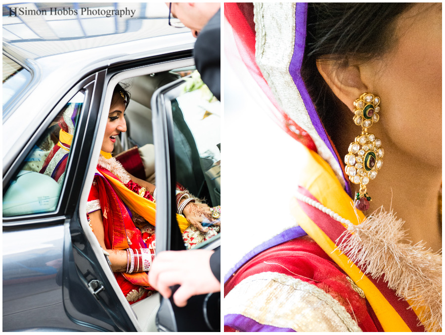 20-Sikh-Bride-Leaving-Derby-Wedding-In-Car